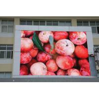 China Waterproof P10 LED Display , 4096 Level Advertising LED Panel Display on sale