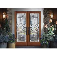 Buy cheap Gorgeous Contemporary Beveled Edge Picture Frame Glass Tempered Technical Curve Flat Toughened Glass product
