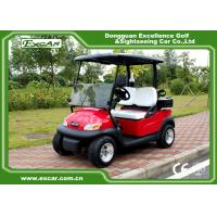 Buy cheap EXCAR Electric Golf Car 2 Person 48V Trojan Battery / Curtis Controller product
