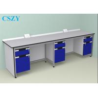 Buy cheap Wood Steel Lab Furniture For School , laboratory Work Bench from wholesalers