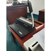 Buy cheap Small Comb Binding Machine with two kinds hand shank from wholesalers