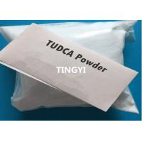 Buy cheap For Liver Disorder Animal Extracts Pharmaceutical Raw Powder Tauroursodeoxycholic Acid / TUDCA CAS 14605-22-2 product