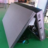 Front Open Outdoor Double Sided Led Display , High Resolution 6500 Nits Video Wall