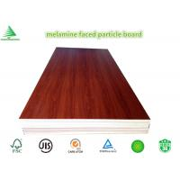 Buy cheap New design wood grain wholesale cheap E0/CARB P2 4'X8' melamine laminated particle board product