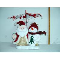 Buy cheap Santa Claus and Snowman Christmas Moving Musical Toddler Electrical Toys Battery Powered from wholesalers