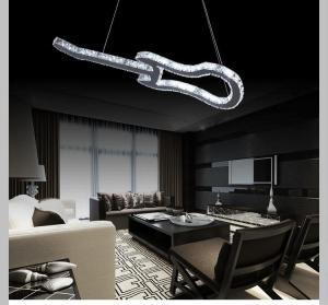 Quality Minimalist fashion creative LED chandelier lights modern guitar Crystal Hotel for sale