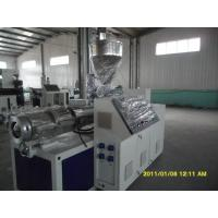 Buy cheap PERT Floor Heating Pipe Plastic Pipe Extrusion Line 380V 75KW 50HZ product