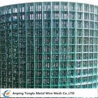 Buy cheap PVC Coated Welded Wire Mesh|Green Color With 1/4 inch by Carbon Steel Wire product