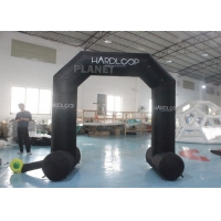 Buy cheap Oxford Mini Advertising Cartoon Inflatable Entrance Arch Outdoor Black product