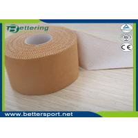 Buy cheap 5cmx13.7m Latex free zinc oxide athletic rigid strapping tape viscose sport tape from wholesalers