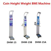 Buy cheap Coin Operated Body Weight Height Scale , Professional Medical Grade Weight Scale product