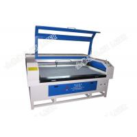 Buy cheap Cardboard Eva Synthetic Leather Laser Cutting Machine For Shoes Jhx - 160100 product