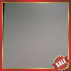 Buy cheap PC abrasive Sheet,matt polycarbonate sheet,frosted polycarbonate sheet,matt pc panel,frosted pc panel,nice decoration product