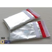 China Fireproof Document Bag Envelope Non Irritating Heat Reflective Fiberglass Cloth on sale
