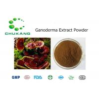Buy cheap Ganoderma Plant Extract Powder Polysaccharide Triterpenoids Herbal Ingredients product