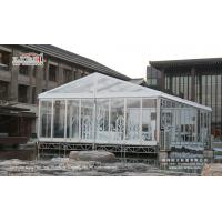 Buy cheap 500 people clear tent with Transparent PVC Roof Cover product