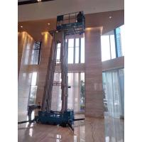 Buy cheap 10m-18m Mast lift Platform Height Hydraulic Aerial work platform Boom Lift product