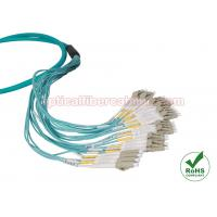 China LC / SC / FC / ST / MTRJ OM3 Multi Strand Fiber Optic Cable MM 10 Gig Patch Cord on sale