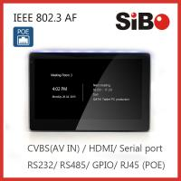 SIBO Q896 In Wall Android Tablet With RS232 RS485