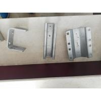 Buy cheap High Performance Sheet Metal Stamping Process SS Plate Parts , Simple Single Die Mould product