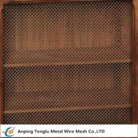 Buy cheap Wire Mesh Grille Inserts| Press Crimp Weave by Cold Rolled Steel from wholesalers