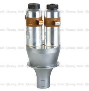 China 2800W  Double Ultrasonic Oscillator , Ultrasonic Welding Horn  For Fabric Welding Machine on sale