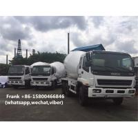 Buy cheap 10PE1 Engine Used Concrete Mixer Trucks , Mobile Concrete Mixer Truck product