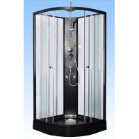 Buy cheap Convenient Comfort Black Corner Shower Cabinets For Large Scale Shopping Malls from wholesalers