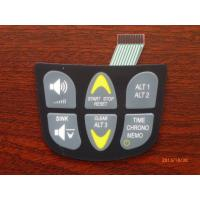 PCB Embossed Membrane Keyboard Switch , Transparent Tactile Membrane Switch