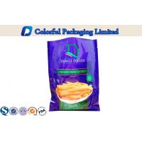 China Three Side Sealing food packaging pouches for Potato Chips / snack on sale