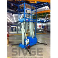 Buy cheap Aluminum Alloy Hydraulic Lift Ladder 14 Meter Working Height For Window Cleaning product