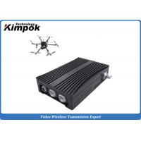 Buy cheap Portable COFDM Transceiver Self-managing Network IP Mesh for UAV / Helicopter product