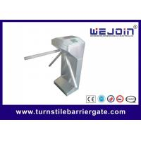China Pedestrian Waist High Automatic Barrier Gate , Economical Turnstile Security Gates on sale