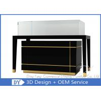 Buy cheap Luxury Nice Black Jewelry Shop Counters / Jewelry Counter Display from wholesalers