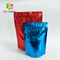 China Food Grade Custom Printed Stand Up Pouches Printed Smell Proof Aluminum Foil Ziplock on sale