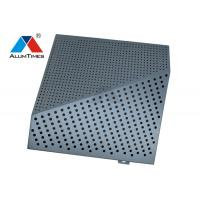 Buy cheap Customized Aluminium Perforated Panel For Airline Lounges Decoration product