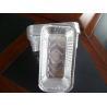 Buy cheap Ovenable Disposable Aluminum Foil Pans , Aluminium Disposable Baking Pan Custom from wholesalers