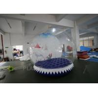 Buy cheap 3m Inflatable Human Size Snow Globe For Promotion Fire Retardant product