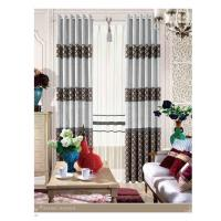 Buy cheap Wholesale Home Decorative Jacquard Fabric Modern Curtains European Style for Hotel product