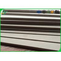 Buy cheap Recycled mixed pulp A0 A1 size book binding board grey board thermal paper roll from wholesalers