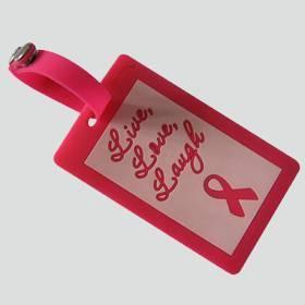 Custom Design Silicon Rubber Travel  Luggage Tag / Label