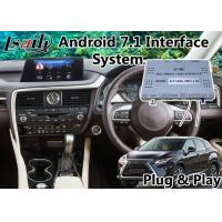 Quality Android 7.1 Auto Navigation Interface for Lexus RX 200t 8 Inch Screen 2015-2018 , Google / waze for sale