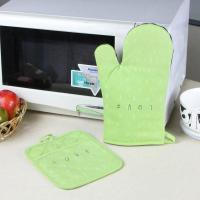 Buy cheap Promotional Customized Pattern Kitchen Cooking Oven Mitts And Pot Holders With Neoprene Oven Mitt product