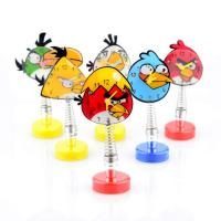 China Angry Birds Mini Desk Table Metal Alarm Clock Car Ornament Clock on sale