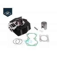Buy cheap 2 Stroke Single Motorcycle Cylinder Kit With Piston Set Gasket Black Iron Material product