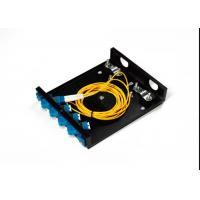 Buy cheap LC FC SC 4 Port Fiber Optic Distribution Frame ODF 8 Port Black Terminal Box ODF from wholesalers