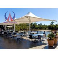 Buy cheap Firm Fixed Center Supported Umbrella Shade Structures Fabric Canvas Shade Covers product