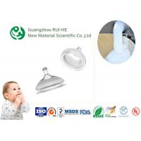 ISO Nipple Liquid Silicone Rubber Food Grade RH5350 - 70 High Transparency for Baby Supplies
