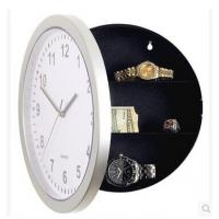 China New promotion gift creative wall clock organizer hidden storable clock on sale