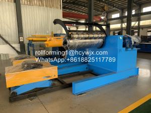 Buy cheap Hydraulic Recoiler With Coil Car-Tension Stand-Scrap Winder Device For Slitting Line product